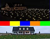 Lawn Lights Illuminated Outdoor Decoration, LED, Christmas, 36-10, Static Multicolor