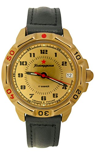 Vostok KOMANDIRSKIE 439121/2414un militar especial deporte Mens Reloj de pulsera