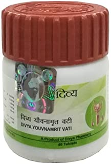 Divya Younamrit / Yauvanamrit Vati 40 Tablets for increasing sexual strength, Vigor and Vitality