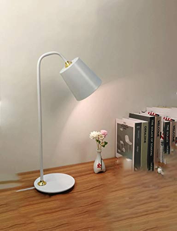 Weie Augenschutz-Tischlampe, Schreibtischleselampe, Kinderlampe, Schlafsaallampe, Schlafzimmer-Nachttischlampe