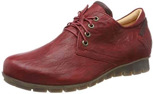 Think! Damen Menscha_585070 Derbys, Rot (Cherry/Kombi 74), 40 EU