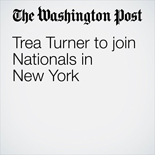 Trea Turner to join Nationals in New York cover art