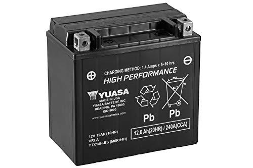 Yuasa YTX14H-BS(WC) Batteria ad Alte Prestazioni Senza Manutenzione