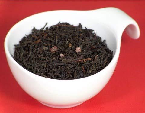 TeeTeam Schwarztee, Schwarzer Tee Wildkirsche - aromatisierter Tee, 250 g