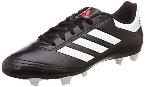 adidas Goletto Vi FG, Zapatillas de Fútbol Hombre, Negro (Cblack/ftwwht/Solred), 43 1/3 EU