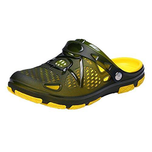 WWricotta Outdoor Casual Walking Beach Flip Flops Casual Men Shoes Summer Beach Slippers