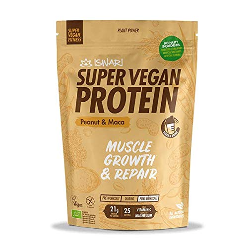 Super Vegan Protein Cacahuete y Maca 875g