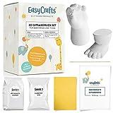 3D Abdruck Gips Set für Babys und Kleinkinder | EasyCrafts® | Natürliche Materialien |...