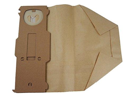 vhbw 10 Papier Staubsaugerbeutel Filtertüten wie FP 131 für Staubsauger Vorwerk Kobold VK 130, VK 130SC, VK 131, VK 131SC wie Swirl V64, Menalux 6971P