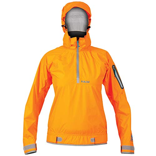 Kokatat Women's Hydrus Jetty Paddling Jacket-Orange-S