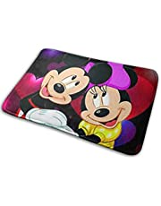 "Welkom Entree Deurmatten Mickey Mouse en Minnie Mouse Deurmat en Hond Mat, 15.7"" X 23.5"" Antislip Deurmatten Vloermatten Schoenschraper"