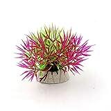 1pc 5-12cm hierba acuario decoración agua malezas ornamento plástico planta tanque acuario decoración accesorios, N