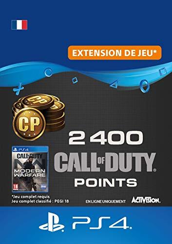 Call of Duty : Modern Warfare 2400 Points | Code PS4 Jeu à télécharger - Compte français
