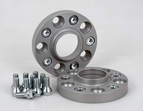 Spurverbreiterung Aluminium 2 Stück (20 mm pro Scheibe / 40 mm pro Achse) inkl. TÜV-Teilegutachten & ABE~