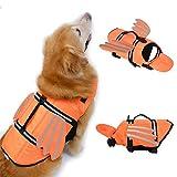 N-A Chaleco salvavidas para perro – Chaleco salvavidas para perro único...