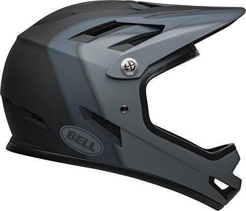 Bell Sanction Adult Dirt Bike Helmet - Presence Matte Black (2021), Large (58-60 cm)