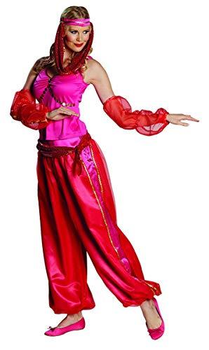 Orient Kostüm Jeanie Größe 40, 1001 Nacht Flaschengeist arabische Tänzerin Bollywood Suleika (40)