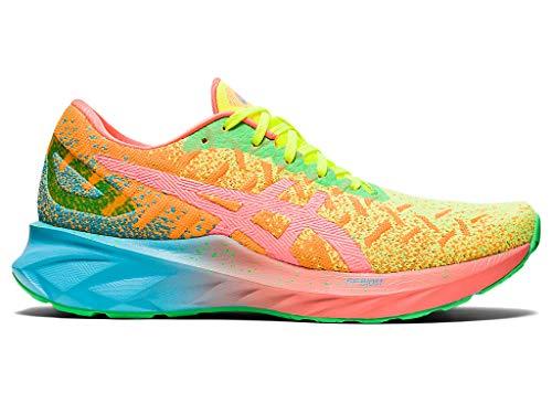 ASICS Women's Dynablast Running Shoes, 5M, Orange POP/Sun Coral