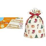くもんのNEWスタディ将棋 WS-32 + インディゴ クリスマス ラッピング袋 グリーティングバッグLL ハッピークリスマス XG497