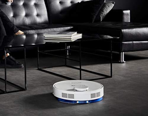 Rowenta X-Plorer Serie 95 Total Care - Robot aspirador con mopa, mapeo 12000 Pa, mascotas y alergias, compatible con smartphones y asistentes de voz con 3 mopas: estándar y Animal Scrub y Allergy