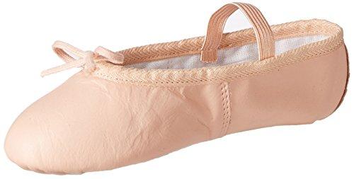 Miguelito Ballet Zapatos en Piel para Bebé-niñas, Color Rosa