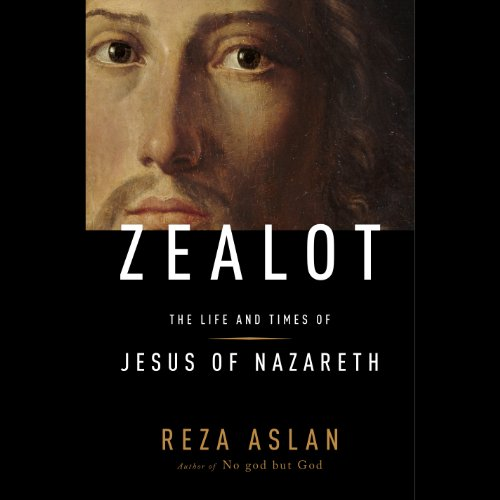 Zealot audiobook cover art