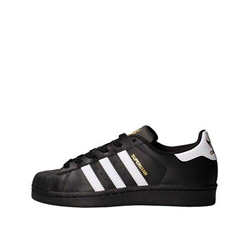 Adidas Superstar J Basket Mode Garçon, Noir (Black), 36 EU