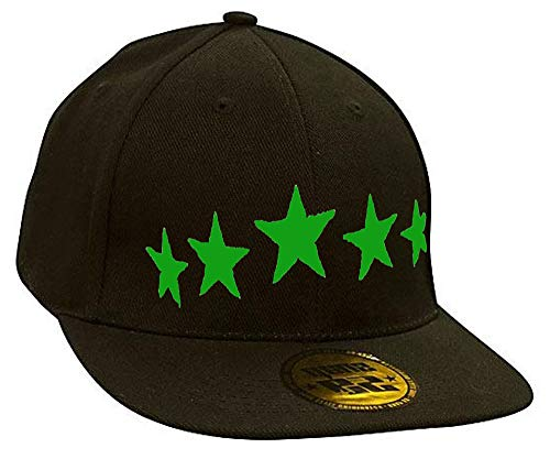 Bonnet Casquette Snapback Baseball Stars Bad Devil Eyes Hip-Hop Bad Hair Day
