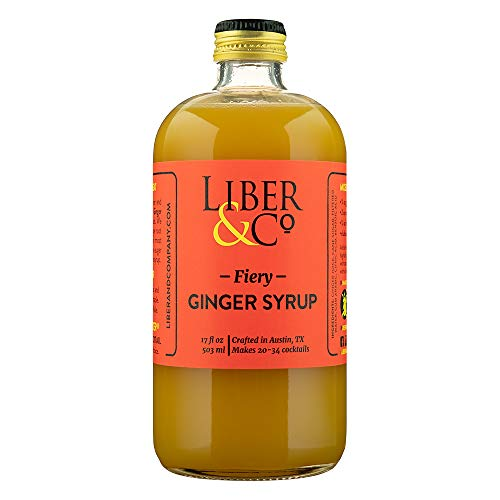 Liber & Co. Fiery Ginger Syrup (17oz)