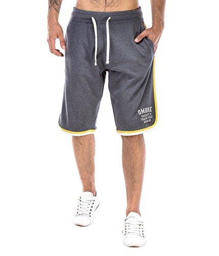 BetterStylz TrackBZ Korte joggingbroek sweatshort bermuda contrast fitnessbroek diverse Kleuren (S-XXL)