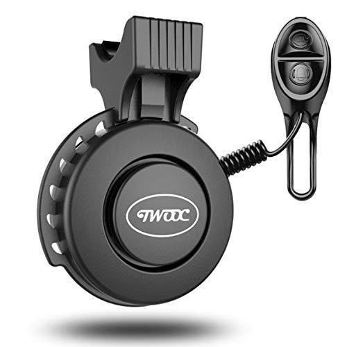 Fahrradklingel USB Wiederaufladbar, wasserdichte Fahrrad bell, Baonuor Elektronisches Lenker Bell Ring für Mountainbike
