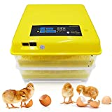 Huatuo Newest Egg Incubator Hatcher 96 Digital Clear Temperature Control Automatic Turning (220V)