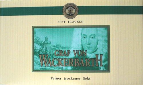 Graf von Wackerbarth Piccolo - Sekt weiß + halbtrocken im 24er Karton
