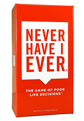 Never Have I Ever | Adult Party Game About The Poor Life Decisions That You and Your Friends Have Made