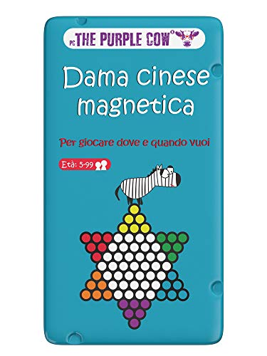 Purple Cow- Dama Cinese Magnetica Gioco, 7290016026931
