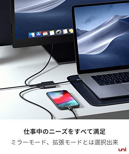 414xvZTZfmL-「uni USB Type-C HUB 8ポート」を購入したのでレビュー!Chromebookにちょうど良いUSB-Cハブ