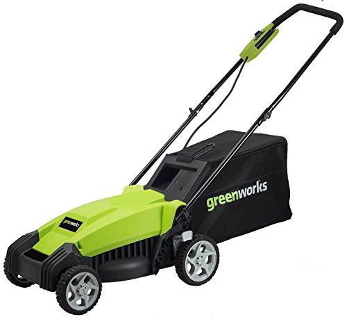 Greenworks 9 Amp 14-Inch Electric Lawn Mower, MO14B00