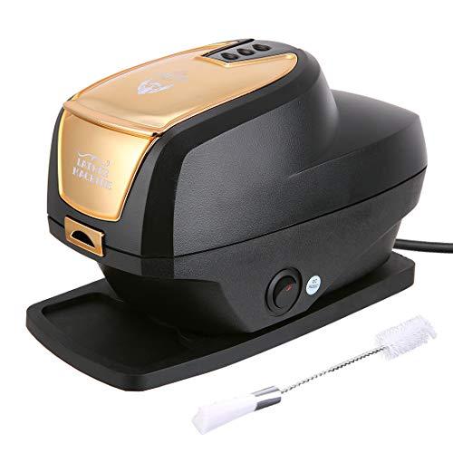 Hot Lather Machine for Shaving (Black)