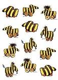 Janosch Multi-Sticker-Postkarte Tigerente