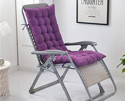 Colchoneta reclinable para interiores y exteriores, cojín para tumbona de viaje portátil, cojín antideslizante para silla de asiento suave para llevar, colchoneta relajante para viajes de vacaciones