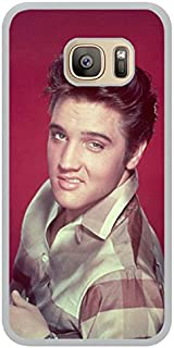 Elvis Presley 1 White Shell Phone Case Fit For Samsung Galaxy S7,Newest Cover