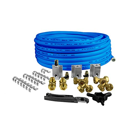 """Industrial Air 024-0397IA 3/4"""" x 100 ft. HDPE/Aluminum Compressed Air Flexible Piping System Kit"""
