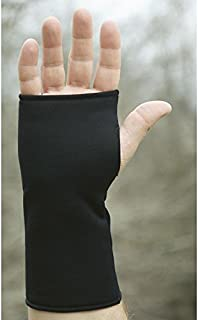 Performance Wristies Finger Free Gloves, Large, Black
