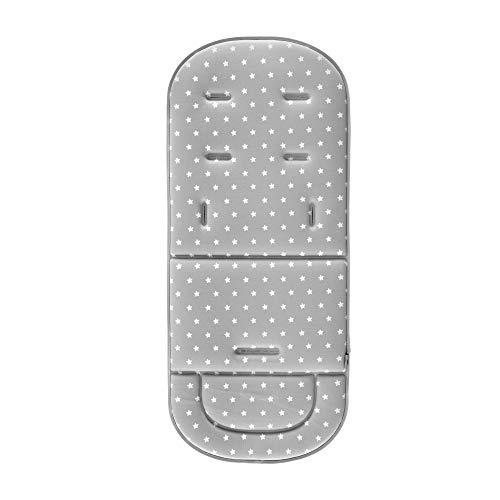 Colchoneta Universal para Silla de Paseo Bebe - Innovaciones MS (gris)
