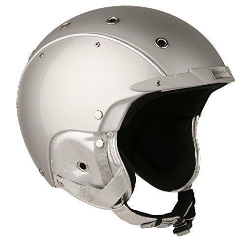 Indigo Helmet Core | Silber Titan | Ski & Snowboard | Hochwertige Qualität (Silber Titan, S | 52-54 cm)