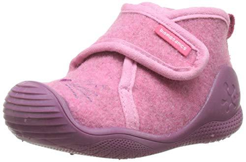 Biomecanics 191174, Zapatillas de Estar por casa para Bebés, Rosa (Fieltro) B, 24 EU