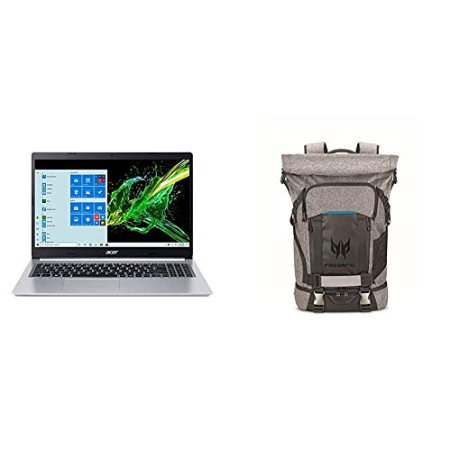 Acer Aspire 5 A515-55G-57H8, 15.6' Full HD IPS Display, 10th Gen Intel Core i5-1035G1 with Acer Predator Rolltop Gaming Backpack