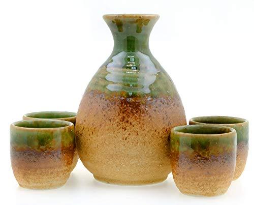 Rock Pool - Juego de 4 tazas de sake japonés