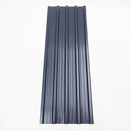 12 pcs 0.27mm Metal Shed Roof Panel 1290 x 450 mm Wall Cladding Aluminum Roofing Covers Shed Side Panels Sheets Tools