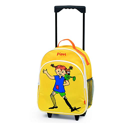 Micki & Friends Pippi Langstrumpf 44.3763.00 - Transportfahrzeug - Trolley, gelb